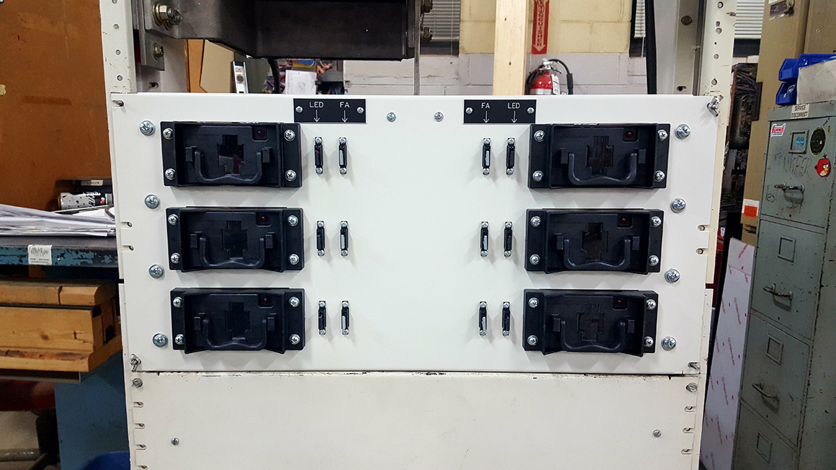 Tyco Lucent Bay Fuse Panels Gus Berthold Electric Co Industrial Box